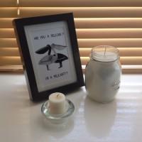 DIY Rustic Candle in a Mason Jar