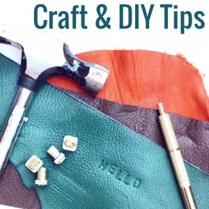 Craft and DIY Tips