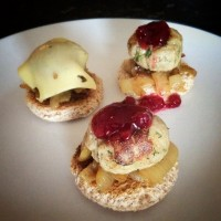 Beer flavoured roasted nuts recipe the crafty gentleman for Meatball canape