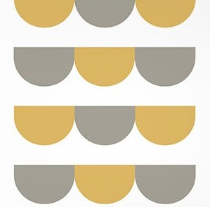 Scandinavian geometric art print 2