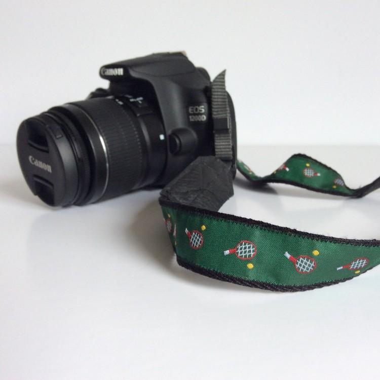 DIY handmade camera strap