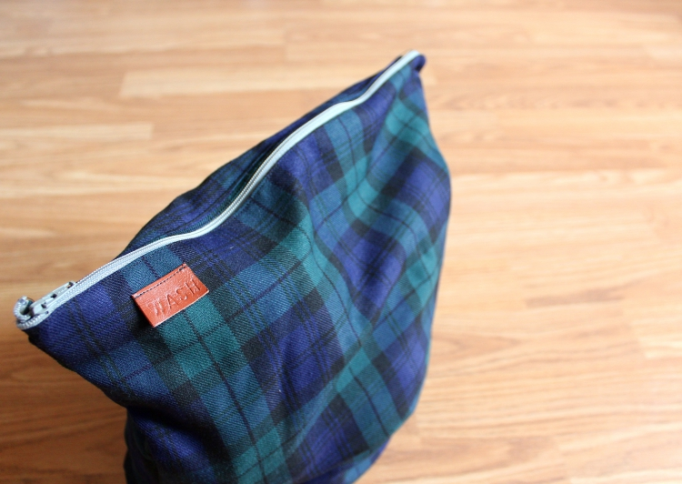 DIY wash and wear travel bag