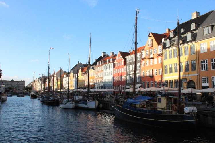 The harbour in Copenhagen