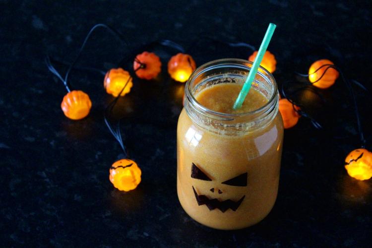 Pumpkin spice smoothie recipe