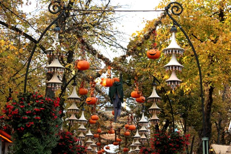 Copenhagen, Denmark - Tivoli Gardens Halloween party 2015