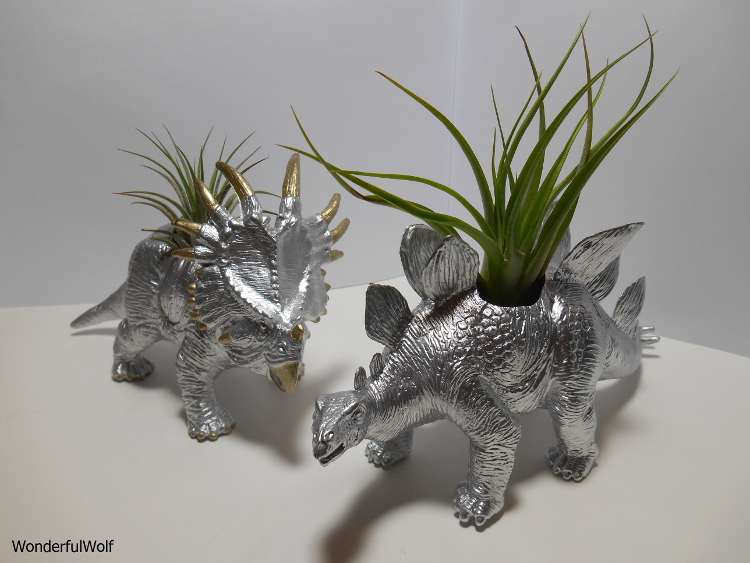 DIY Dinosaur Planter: Plantosaur