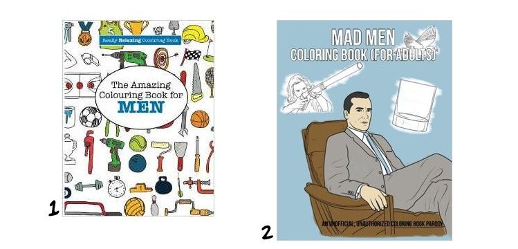 The best adult colouring books for men