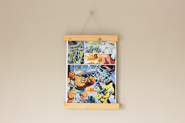 wall art accessories Wooden Magnetic Frame