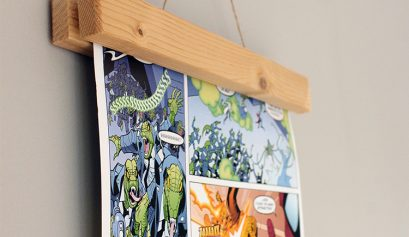 Magnetic wooden frame for wall art   The Crafty Gentleman // Click for tutorial