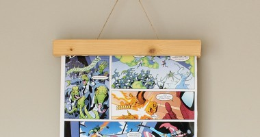 Magnetic wooden frame for wall art | The Crafty Gentleman // Click for tutorial