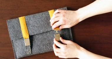 DIY Macbook cover satchel inspired | Click for tutorial