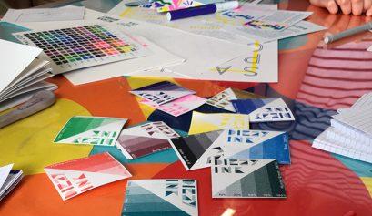 Nottingham School of Print at Dizzy Ink workshop