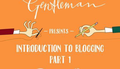 The Crafty Gentleman x Nottingham Etsy Team blogging seminar