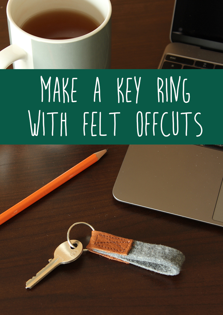 DIY key ring, click for tutorial | The Crafty Gentleman