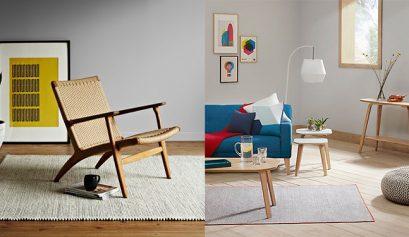 Scandi mid century living room | The Crafty Gentleman