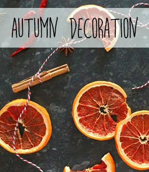 Handmade dried fruit autumn wall hanging decoration