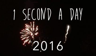 1 second of video a day 2016 challenge