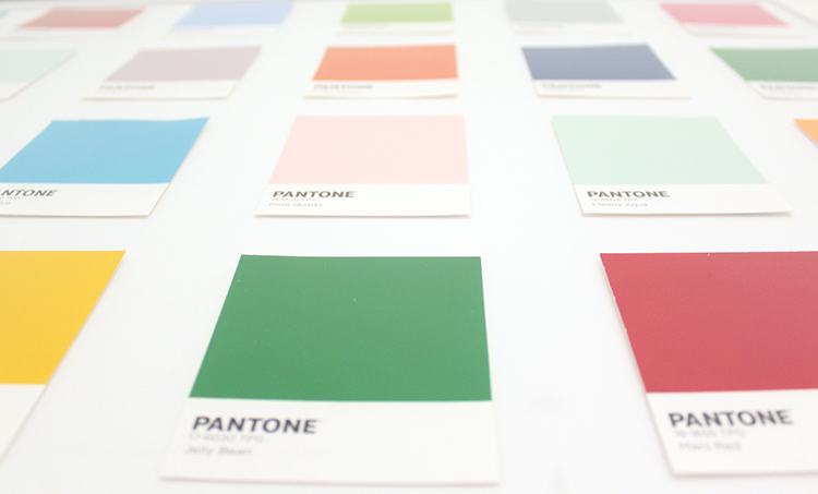 PANTONE wall art DIY