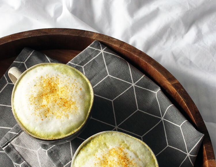 Turmeric Matcha Latte Recipe
