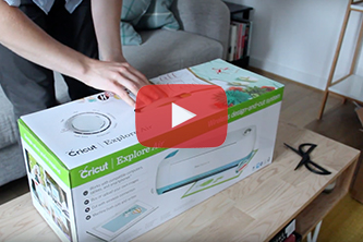 Watch my new Cricut unboxing!
