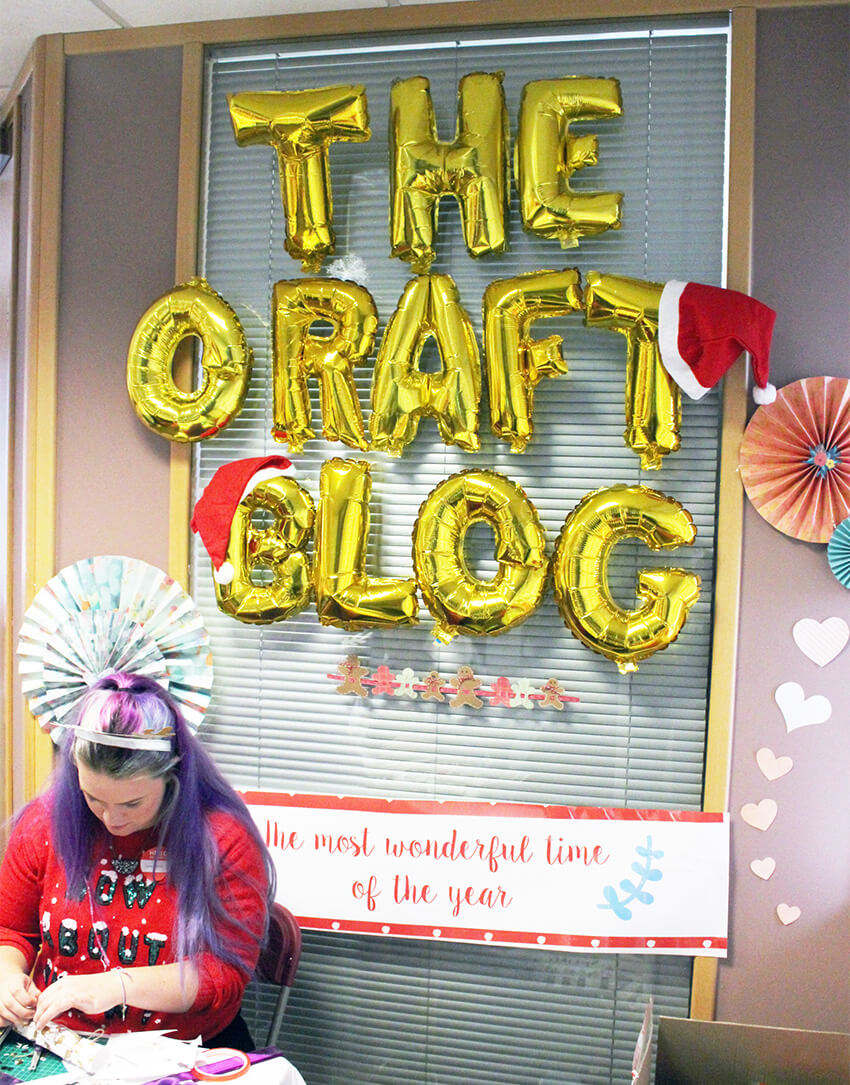 Trimcraft bloggers day 2017 Christmas