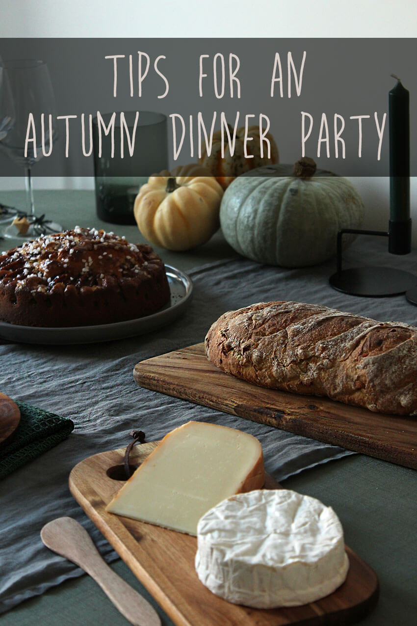 Tips for an autumn party or Thanksgiving party 1