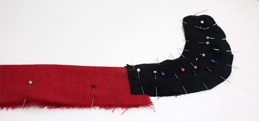 DIY fabric santa advent calendar - tutorial 4.1