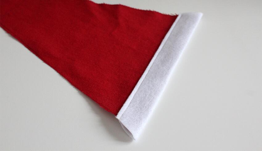DIY fabric santa advent calendar - tutorial 6.3