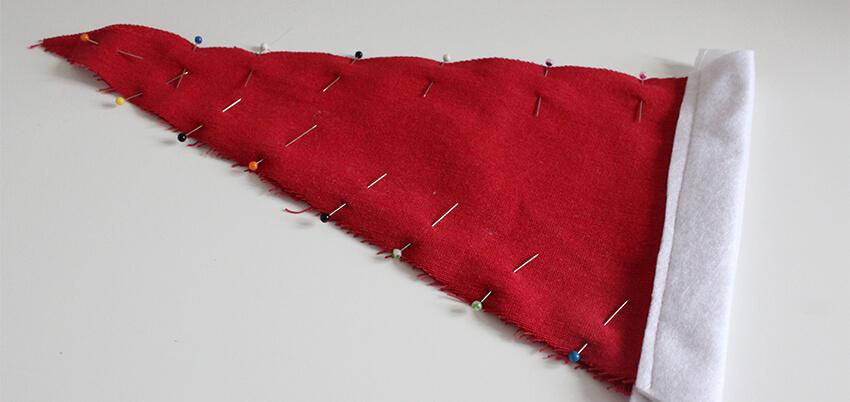 DIY fabric santa advent calendar - tutorial 6.4