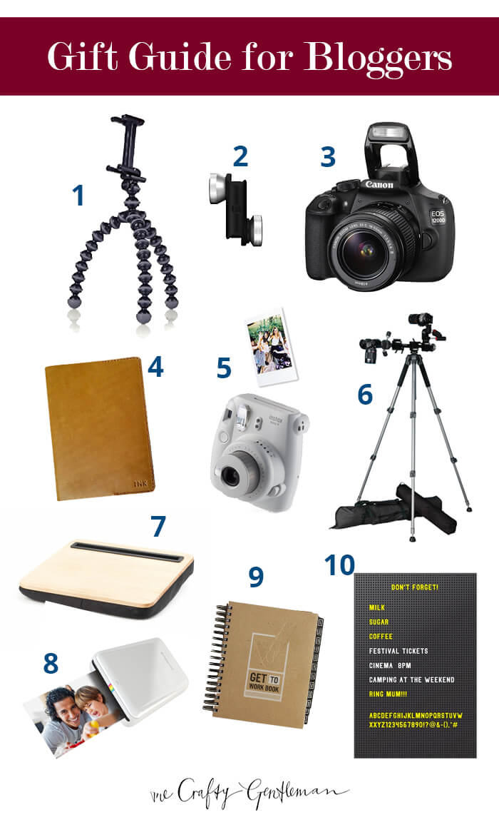 Christmas gift guide for bloggers 2017 - The Crafty Gentleman