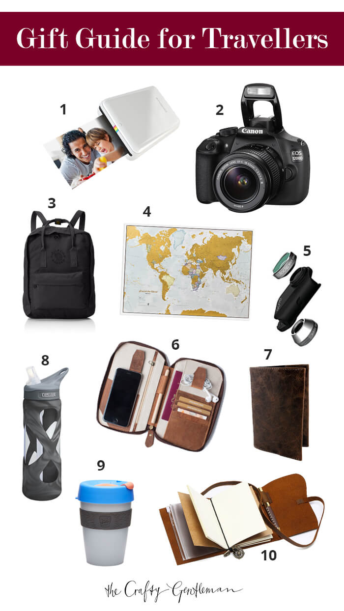 Christmas gift guide for travellers 2017 - The Crafty Gentleman