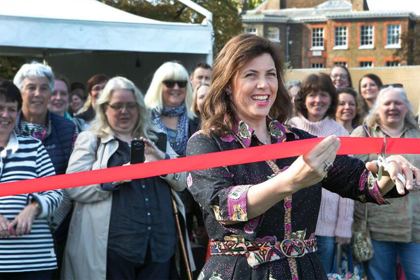 Mollie Makes Mash Up at The Handmade Fair Ragley 2018 with Kirstie Allsopp
