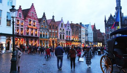 Things to do in Bruges Belgium at new year 2018