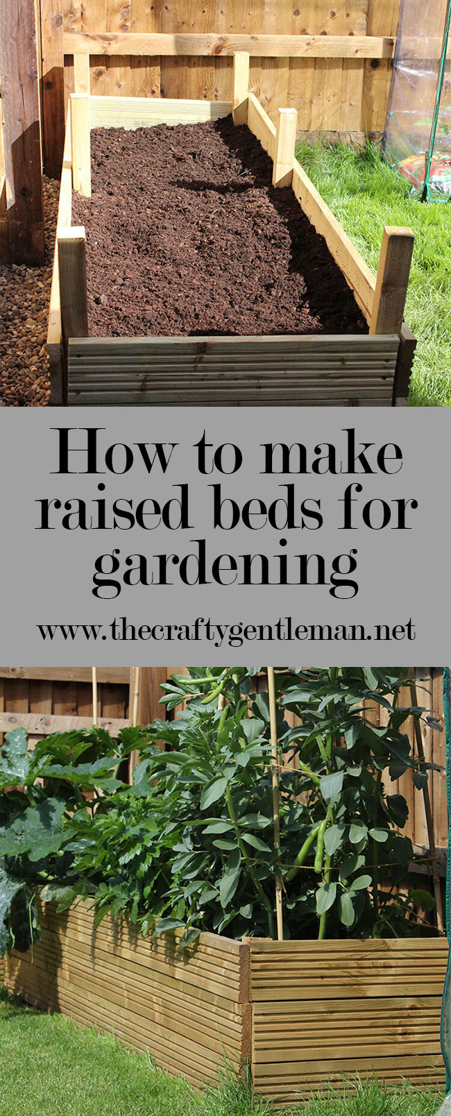 Upgrade your garden with these easy DIY raised beds. This blog post will explain exactly how to make them. Click through for more.