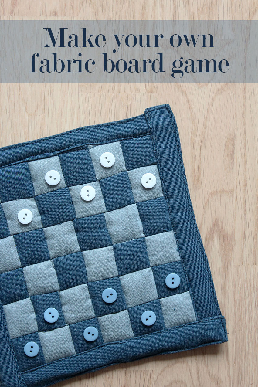 Make your own DIY Fabric Board Game