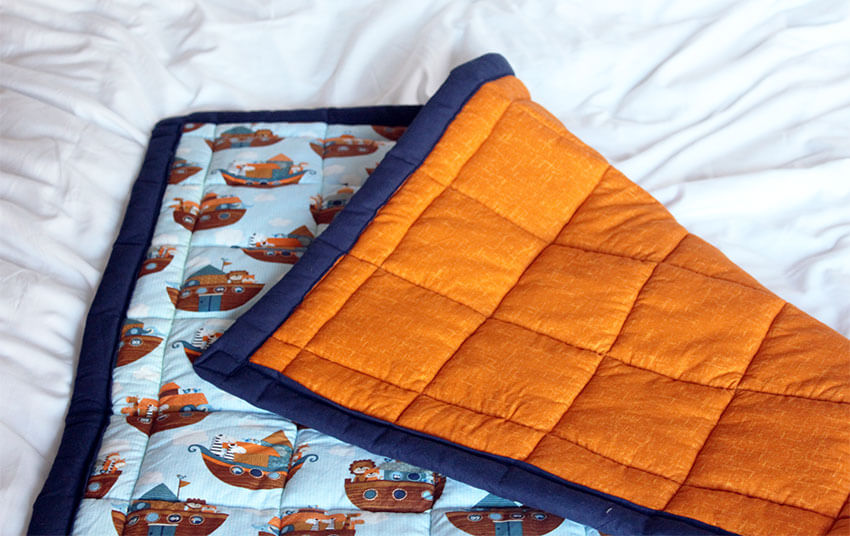Tips for making a quilted blanket - How to sew a patchwork quilt - Sewing and crafts blog - The Crafty Gentleman