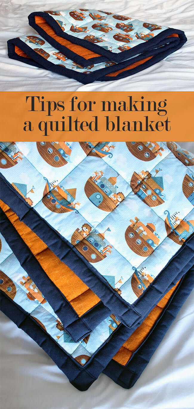 Learn my invaluable top tips for making a quilted blanket! This advice will make your next quilting or patchwork project so much easier. Brought to you by The Crafty Gentleman blog.