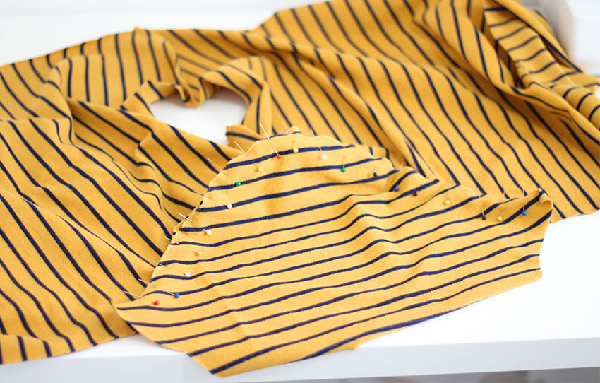 How to make a mens T-Shirt -- Tutorial steps -- The Crafty Gentleman