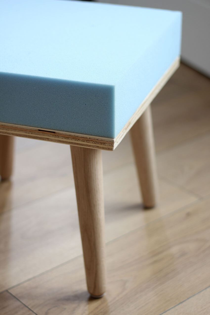 How to make a DIY footstool | Woodwork tutorial | DIY and Crafts blog