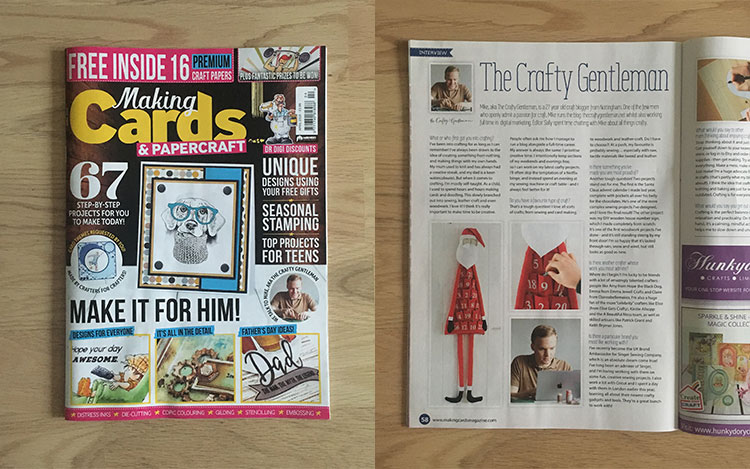 The Crafty Gentleman | DIY and crafts for men | Press and features 6