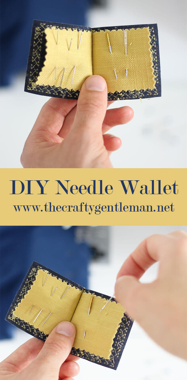 DIY Sewing Needle Wallet Tutorial | DIY and Craft blog | Click through for more