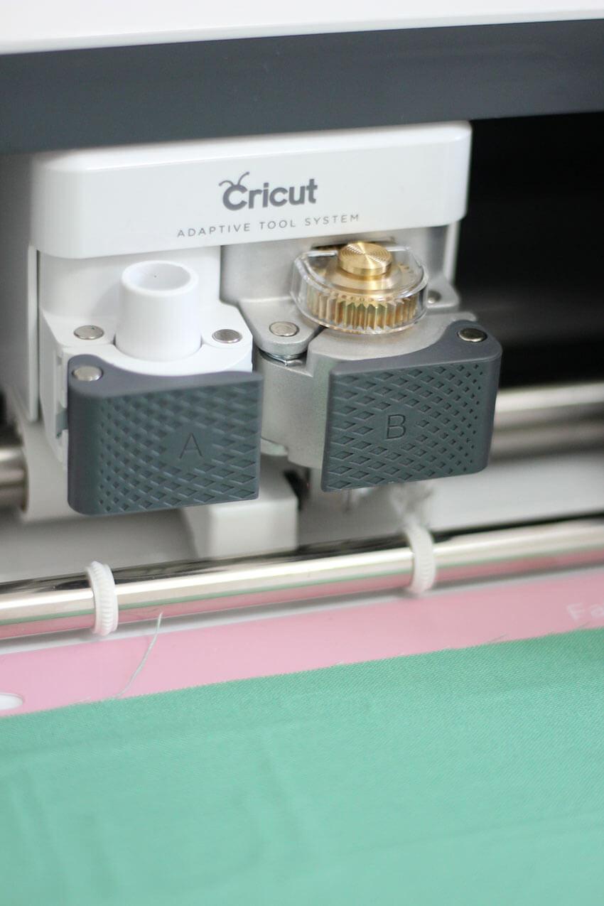 Cricut Maker rotary blade attachment for cutting fabric | Cricut crafts