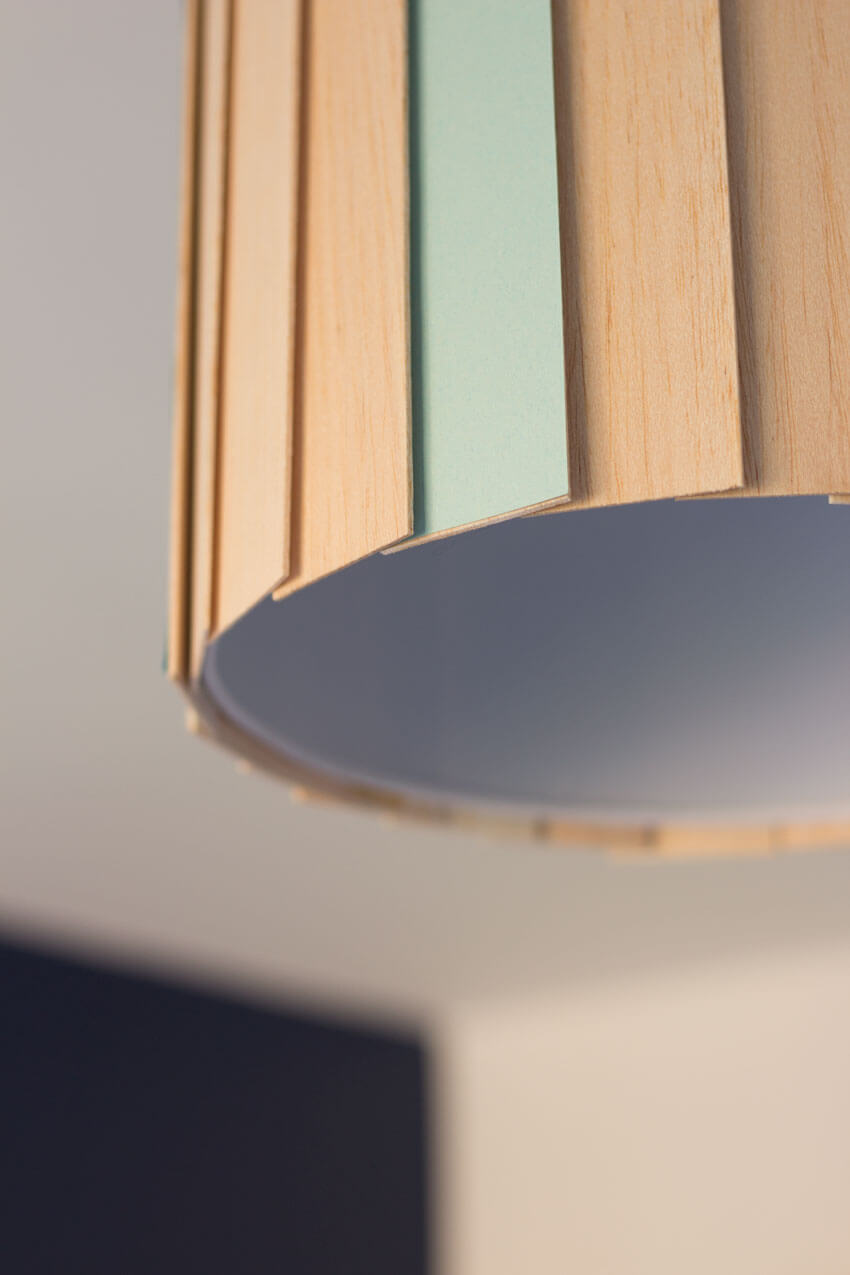 How to make a Scandinavian-Style DIY Wooden Lampshade | Easy woodwork project for beginners | DIY and Crafts | Click through for the full tutorial