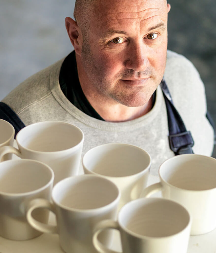 Interview with Keith Brymer Jones of the Great Pottery Throwdown BBC | Man Crafts | Crafts for men