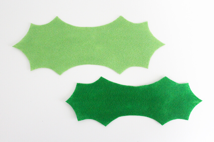 DIY Holly Leaf Bow Tie Tutorial - Handmade Christmas Crafts for Men