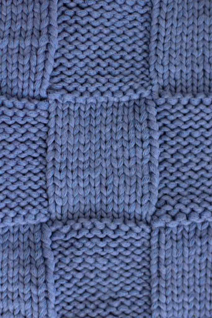 Basket weave scarf knitting pattern video tutorial | The ...